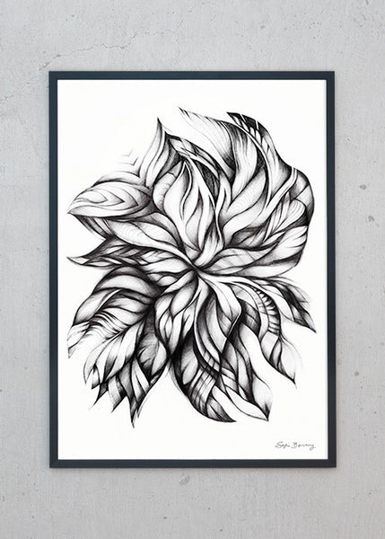 Swirling Leaves fra Sofie Børsting