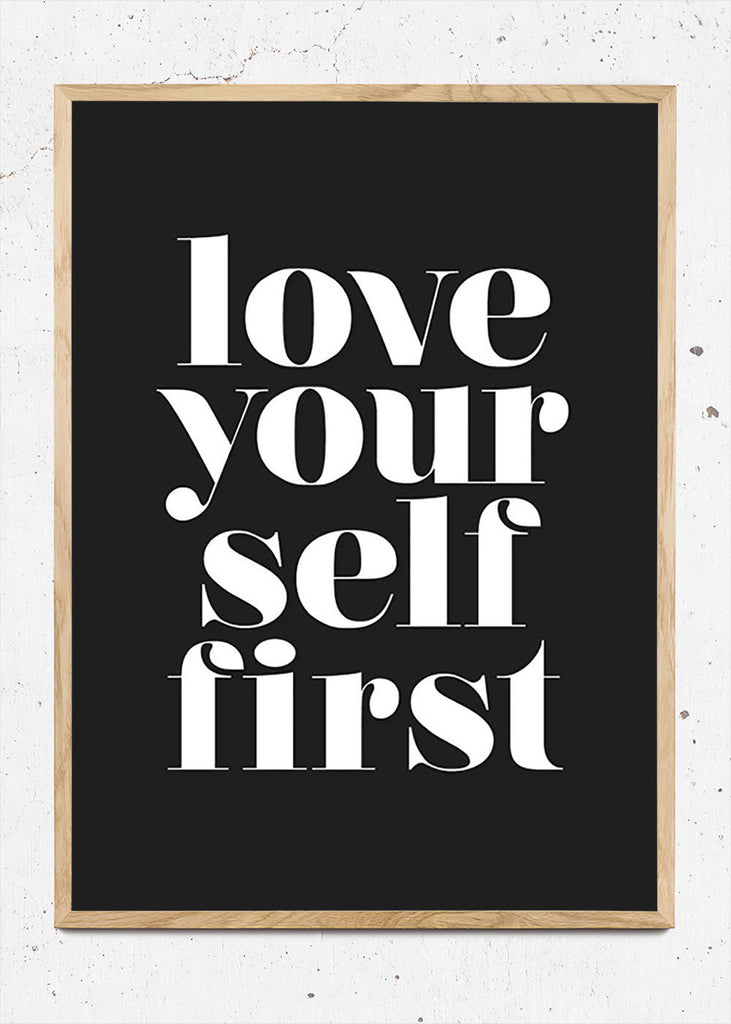 Love yourself first fra Bentzenberg