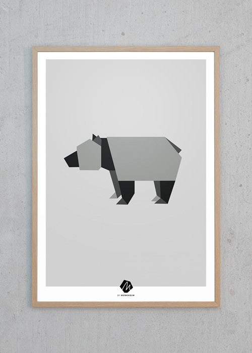Nordic Animals: The Bear fra Michelle Munkholm