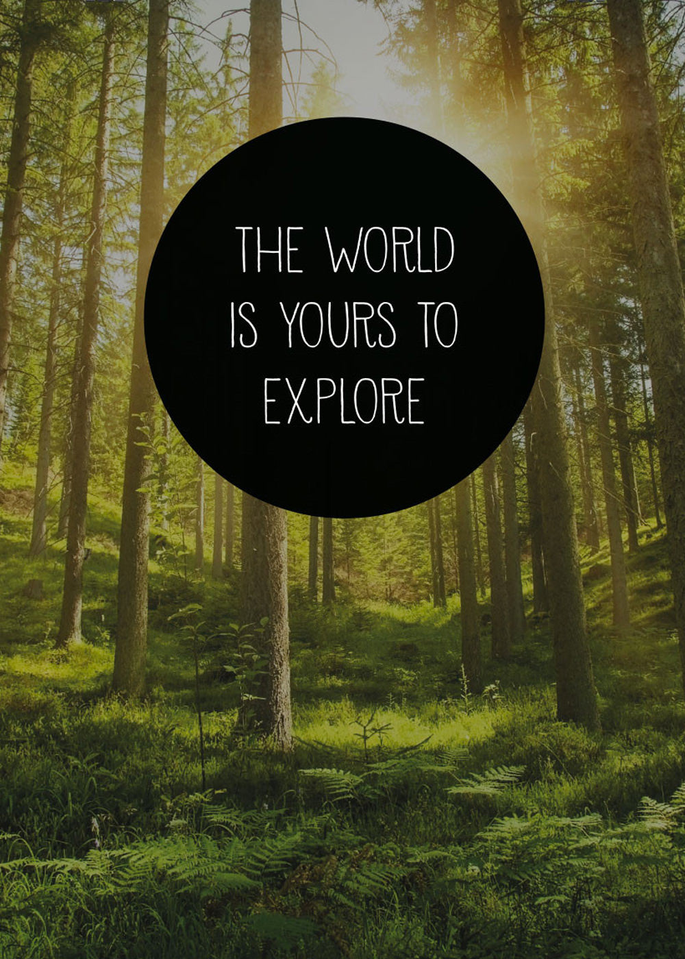 The world is yours to explore fra Away From The City