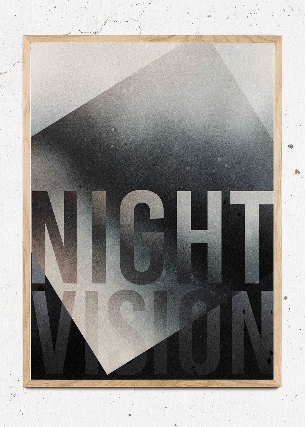 Plakat af Nightvision fra Paradisco Productions