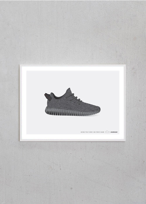 Adidas / Yeezy Boost 350 / Pirate Black fra Sneakerart