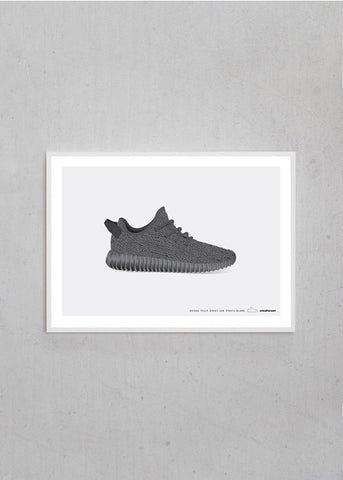 Adidas / Yeezy Boost 350 / Pirate Black