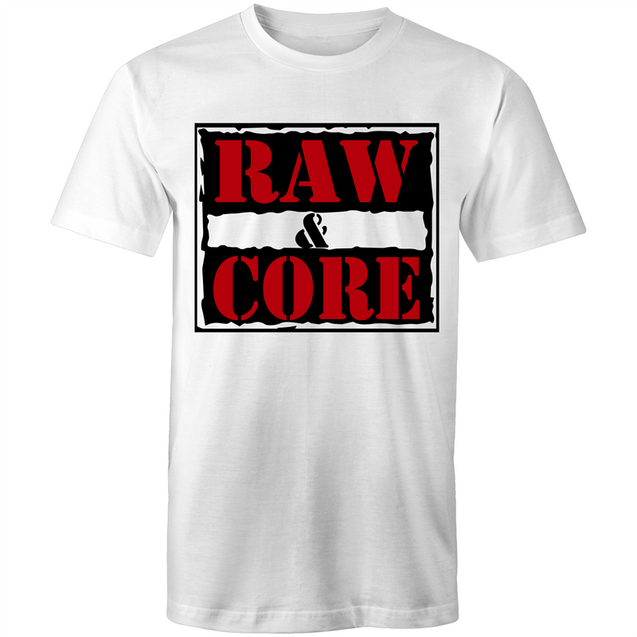 Raw & Core - Unisex T-Shirt - Rave Central - Rave Central