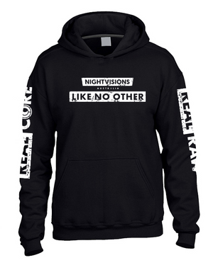 Nightvisions - Raw & Core Like No Other Hoodie - Rave Central
