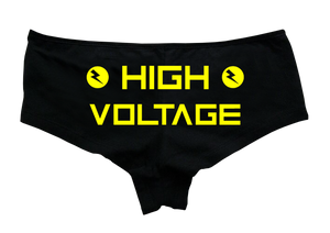 High Voltage Hotpants - Rave Central