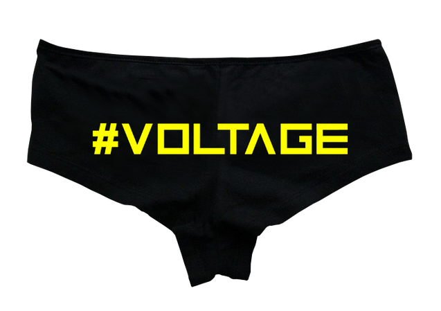 High Voltage - #Voltage Hotpants - Rave Central