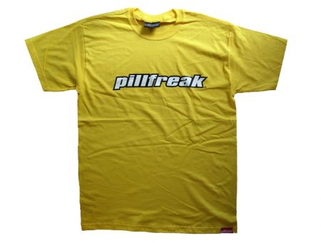 MENS PILLFREAK TEE - ORIGINAL MENS PILLFREAK TEE - Rave Central