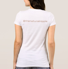 Load image into Gallery viewer, Natural Nipple Logo Tee (Women)