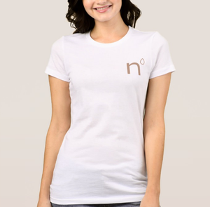Natural Nipple Logo Tee (Women)