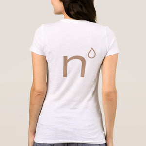 Natural Nipple Boobs T-Shirt Back