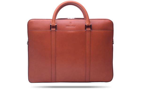 Cognac Briefcase