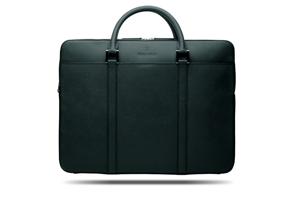 Forest Saffiano Briefcase