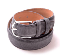 Hunter Suede Belt in Gray