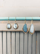Load image into Gallery viewer, Turquoise Bauble Dangles in Gold Fill