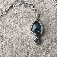 Load image into Gallery viewer, Kyanite Drop Necklace 1