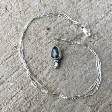 Load image into Gallery viewer, Kyanite Drop Necklace 2