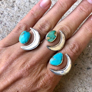 Rama Ring Turquoise Made to Order