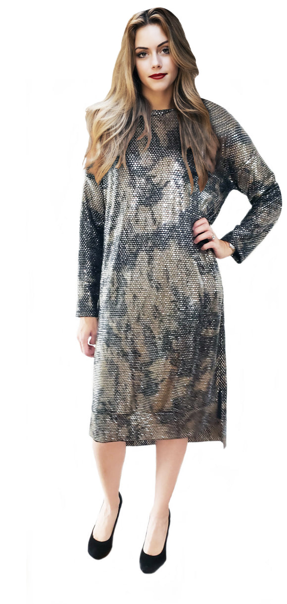Fancy Tunic High Low with Sequins