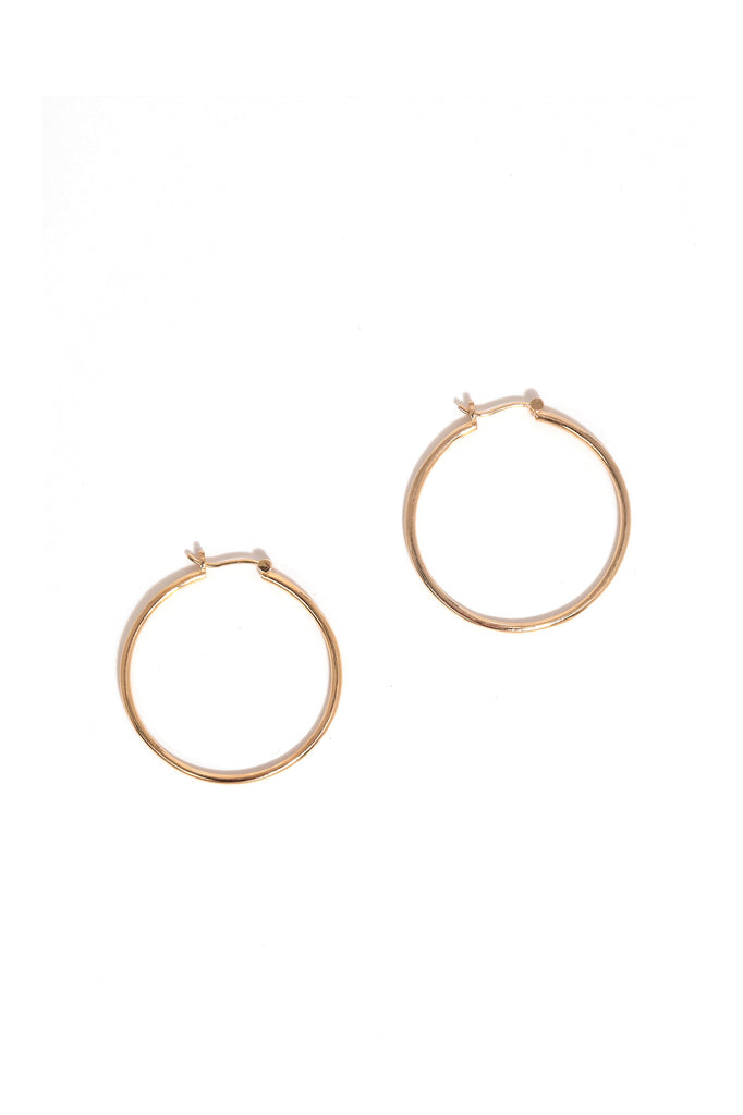 Bailey Hoop Earrings in Vermeil