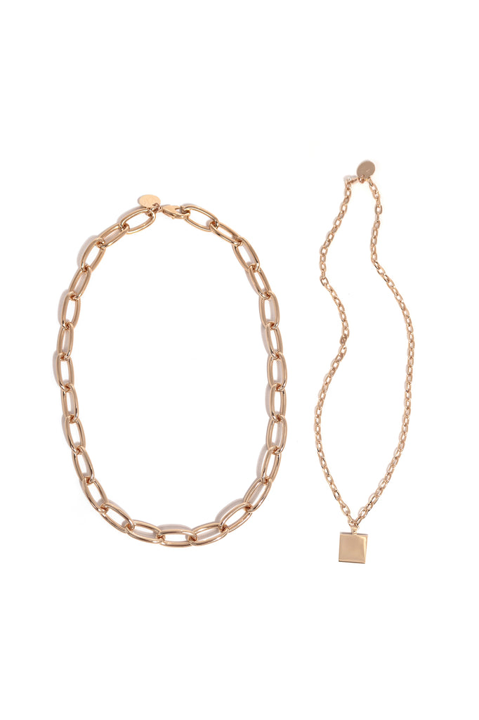 Classic Chain and Square Chain Set