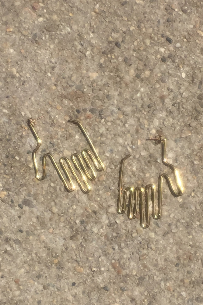 Young Frankk Hand Earrings