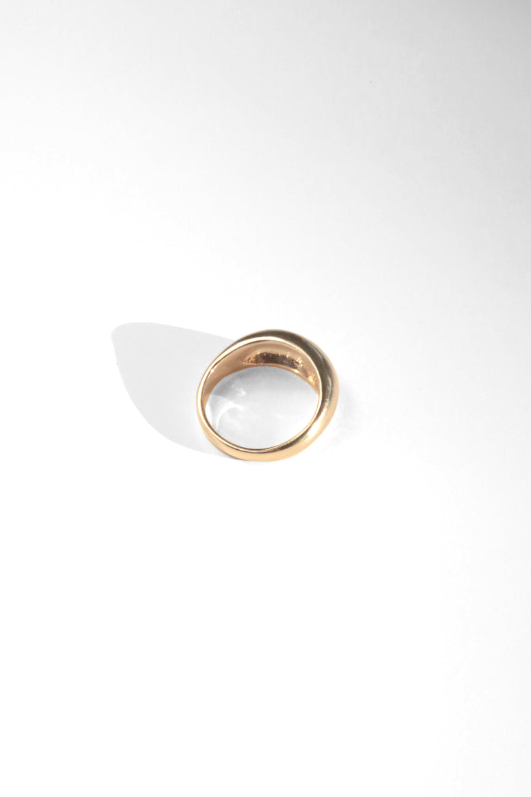 Sawyer Dome Ring in Vermeil