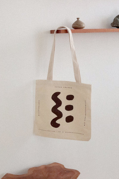 YF RECYCLED COTTON TOTE