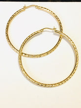 Load image into Gallery viewer, Large Hoops Earrings - Alpha Shine On LLC