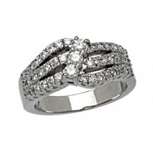Load image into Gallery viewer, Diamond Wedding Band 14k White Gold - Alpha Shine On LLC