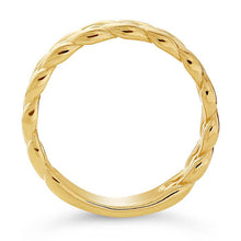 Load image into Gallery viewer, Gold Woven Wedding Band 6mm - Alpha Shine On LLC