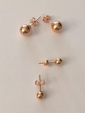 Ball Post Earring Set - Alpha Shine On LLC