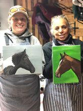 Load image into Gallery viewer, kentucky horse painting workshop