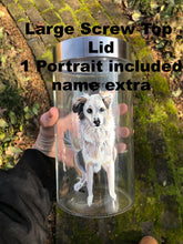 Load image into Gallery viewer, Hand Painted Jars