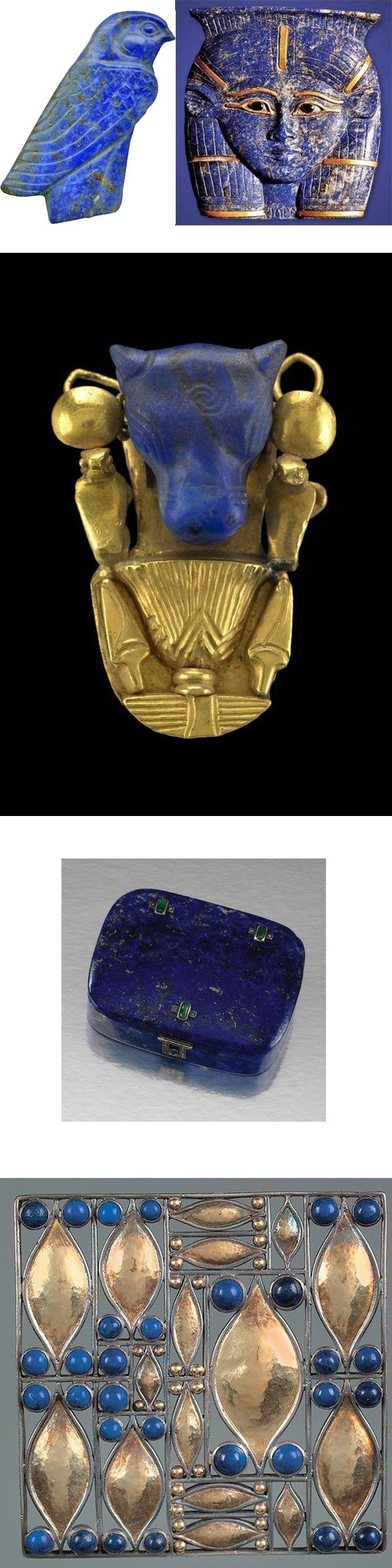 Egyptian & Art Deco Lapis