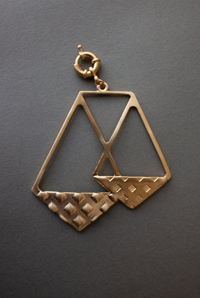 Zodiac Brass Medallion