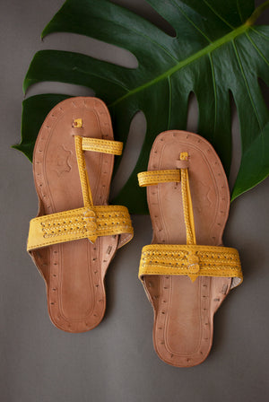 Warm Plain Chappals