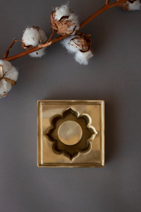 Arabesque Brass Ashtray