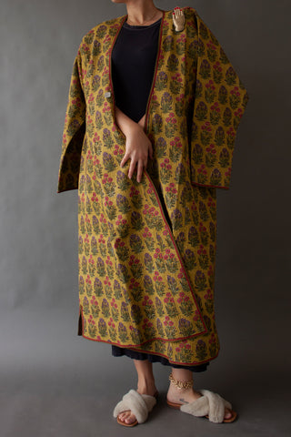 Yellow Post Sosen Afghan Coat