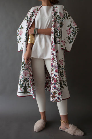 White Atamushk Coat