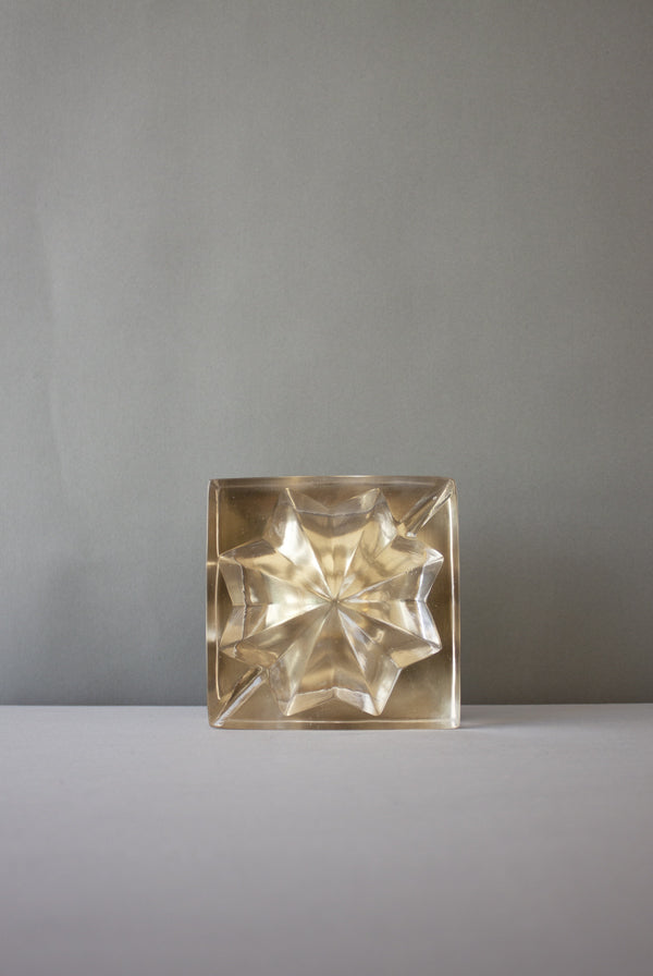 Glass Star Ashtray