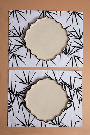 Black Palm Placemats