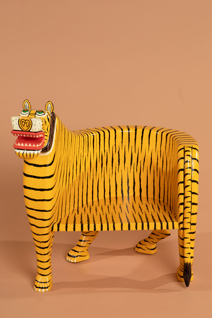 Meenu the Tiger Chair