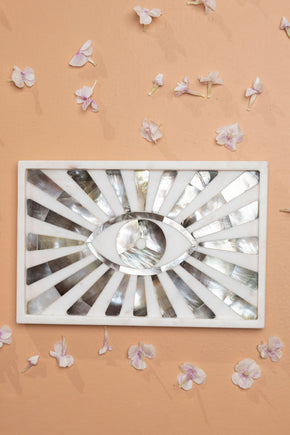 Mother of Pearl Eye Plate