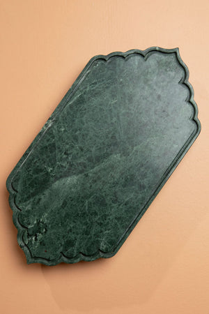 Green Arabesque Tray