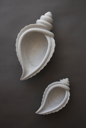 Marble Conch Bowl