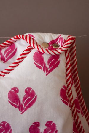 Pink Lovebirds Baby Sack