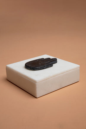 Hand Marble Box