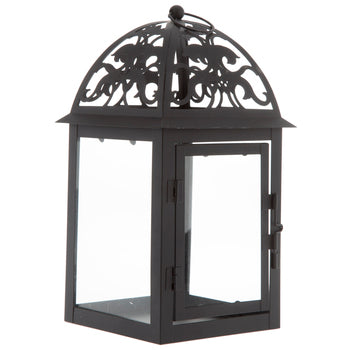Black Metal Small Lantern