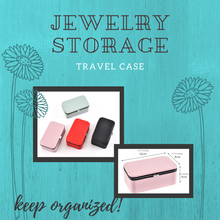 Load image into Gallery viewer, Small Leatherette Jewelry Organizing Box